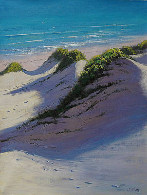 Sand Dunes Painting - Dune Shadows by Graham Gercken