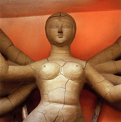 Goddess Durga Photograph - Femininity by Shaun Higson