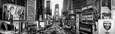 Times Square Photograph - Dusk, Times Square, Nyc, New York City by Panoramic Images