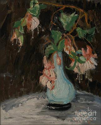 Impressionistic Still Life Painting - Dustpan by Ricardo Chavez-Mendez
