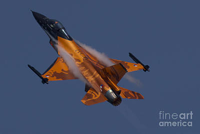 Raf Photograph - Dutch F16 by J Biggadike