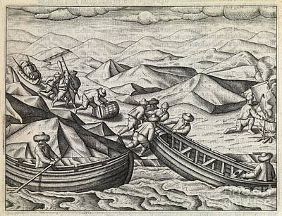 Dutch Northeast Arctic Expedition, 1596-7 Print by Middle Temple Library