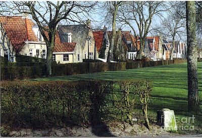Dutch Village Print by Graham Foulkes