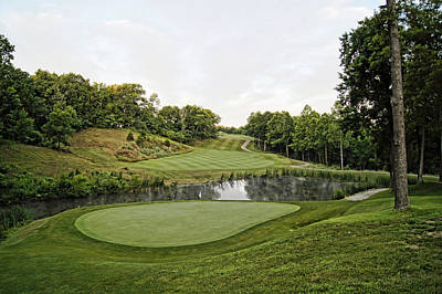Fourteenth Photograph - Eagle Knoll - Hole Fourteen From The Green by Cricket Hackmann