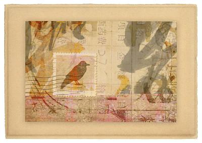 Corvid Digital Art - Eastward by Carol Leigh