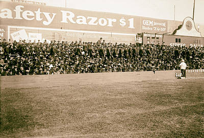Ebbets Field Photograph - Ebbets Field - Home Of The Brooklyn Robins 1919 by Mountain Dreams