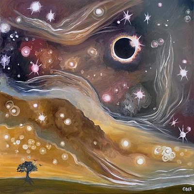 Eclipse Print by Cedar Lee