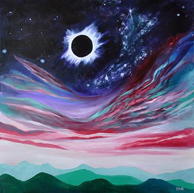 Eclipse IIi Print by Cedar Lee