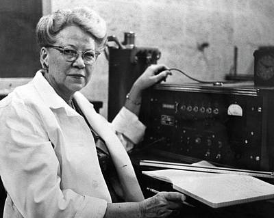 Physicist Photograph - Edith Quimby by Emilio Segre Visual Archives/american Institute Of Physics