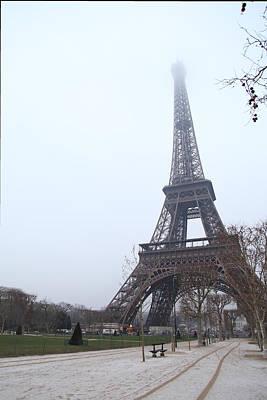 Iron Photograph - Eiffel Tower - Paris France - 011313 by DC Photographer