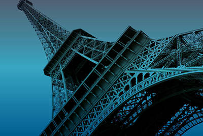 Eiffel Tower Print by Stephanie Hamilton