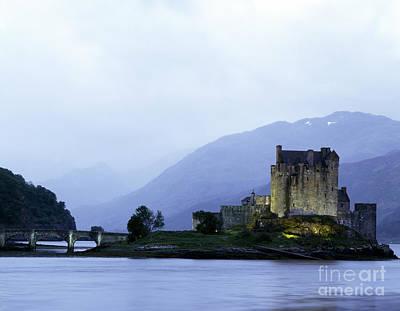 Castle Photograph - Eilean Donan Castle, Scotland by Rafael Macia