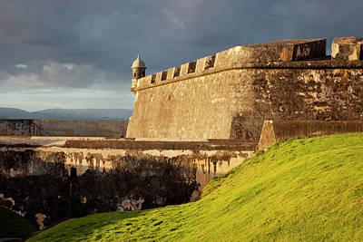 El Morro Fort In Old San Juan, Puerto Print by Brian Jannsen