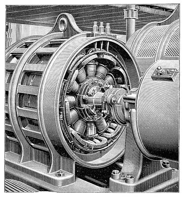 Electricity Transformer Print by Science Photo Library