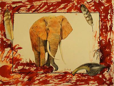 Elephant Original by Juan  Bosco