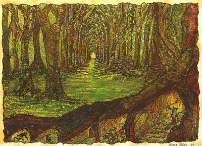 Elf Wood Original by Emma Childs