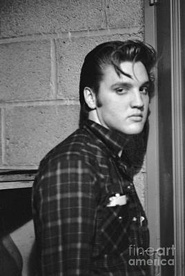 Ohio Photograph - Elvis Presley 1956 by The Harrington Collection