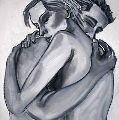 Tablou Painting - Embrace by Amy Marie Adams
