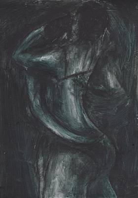 Micka Painting - Embrace by Micka Elle