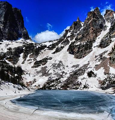 Estes Park Photograph - Emerald Lake In Rocky Mountain National Park by Dan Sproul