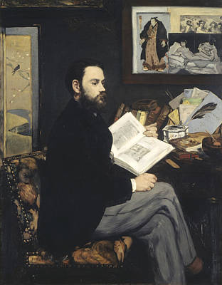 Emile Zola Print by Celestial Images