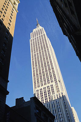 Lovely Photograph - Empire State Building by Jon Neidert