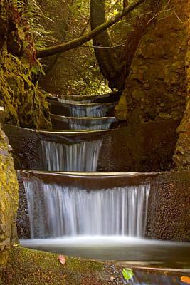 Endless Waterfall Print by Lara Ellis
