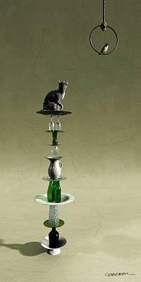 Equilibrium IIi Print by Cynthia Decker