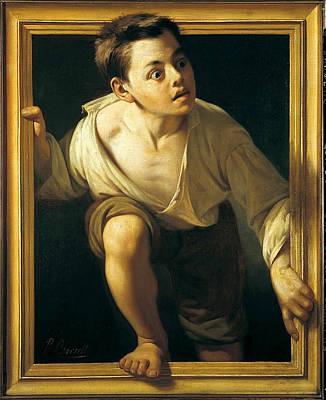 Pere Borrell Del Caso Painting - Escaping Criticism by Pere Borrell del Caso