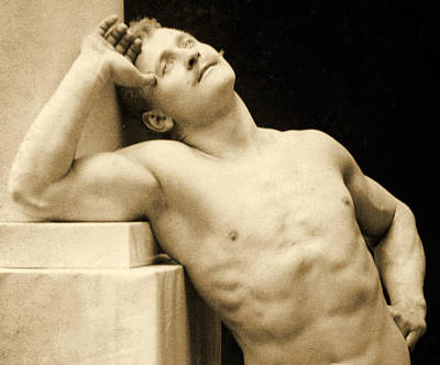 Ideal Photograph - Eugen Sandow by George Steckel