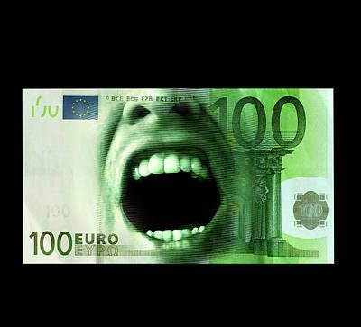 Euro Crisis Print by Smetek