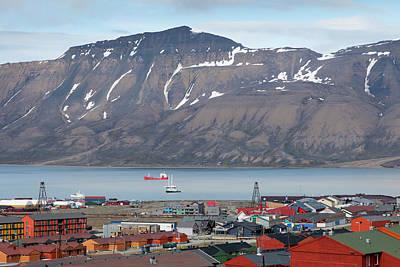 Europe, Norway, Svalbard, Longyearbyen Print by Jaynes Gallery