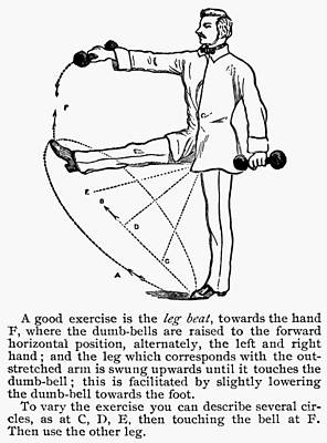 Exercise, 19th Century Print by Granger