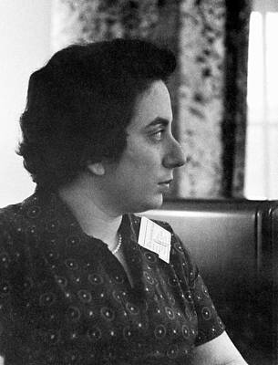 Fay Photograph - F. Ajzenberg-selove by Emilio Segre Visual Archives/american Institute Of Physics