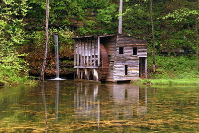 Photograph - Falling Spring Mill  by Marty Koch