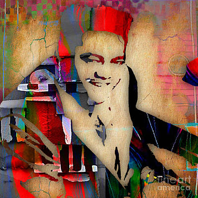 Fats Domino Collection Print by Marvin Blaine