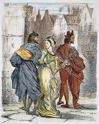 Faust: Mephistopheles, 1828 Print by Granger