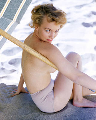 Fay Photograph - Fay Spain by Silver Screen