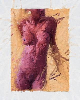 Abstrat Painting - Female by Stefan Kuhn