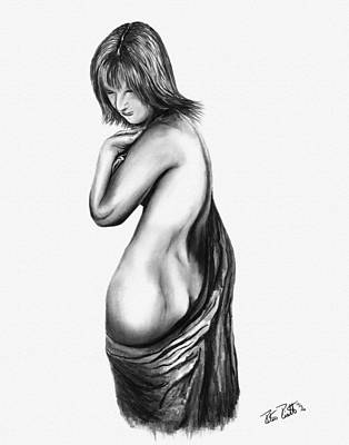 Figure Drawing 101 Print by Peter Piatt