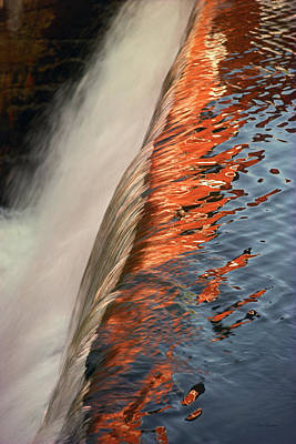 Fire And Water Print by Bruce Thompson