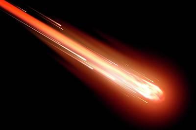 Fireball Photograph - Fireball by Detlev Van Ravenswaay