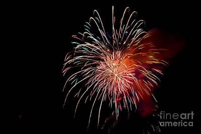 Fireworks Print by Grace Grogan