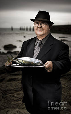Pensioner Photograph - Fishing And Consumption by Jorgo Photography - Wall Art Gallery