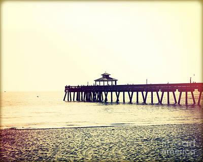 Fishing Pier I Original by Chris Andruskiewicz