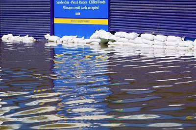 Flooding Photograph - Flooding by Ashley Cooper