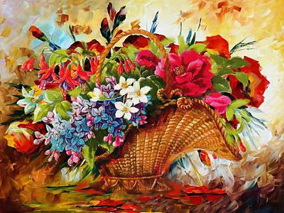 Floral 11 Original by Mahnoor Shah