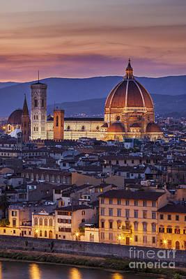 Florence Duomo Print by Brian Jannsen