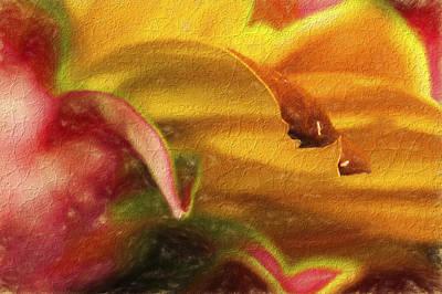 Flower Abstract-4 Original by Mukesh Srivastava