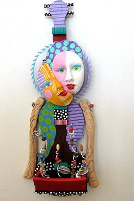 Flowers And Good Things Print by Keri Joy Colestock